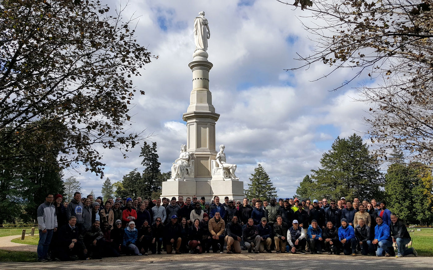 Staff ride to Gettysbrug